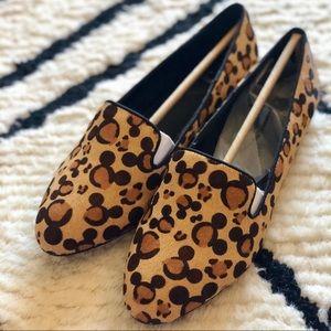 Disney x ALDO | Kappa Mickey Leopard Loafer Size 8